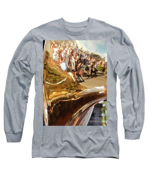 Second Line Tuba Long Sleeve T-Shirt
