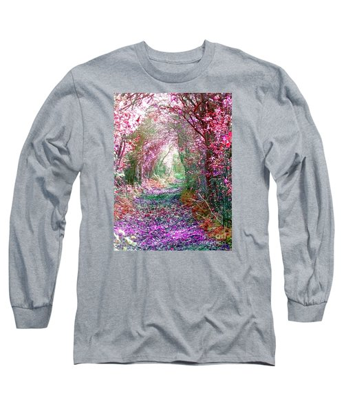 Secret Garden Long Sleeve T-Shirt by Vicki Spindler