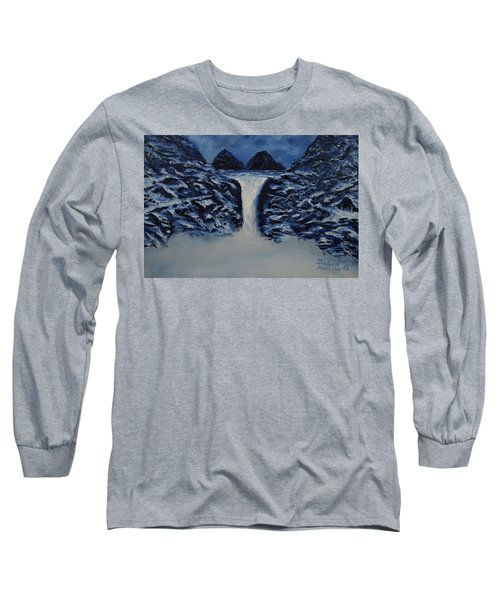 Long Sleeve T-Shirt featuring the painting Secret Places by Shawn Marlow