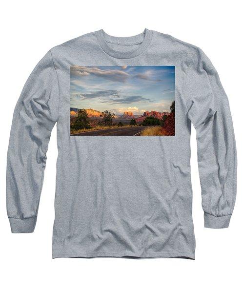 Sedona Arizona Allure Of The Red Rocks - American Desert Southwest Long Sleeve T-Shirt
