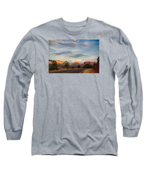 Sedona Arizona Allure Of The Red Rocks - American Desert Southwest Long Sleeve T-Shirt