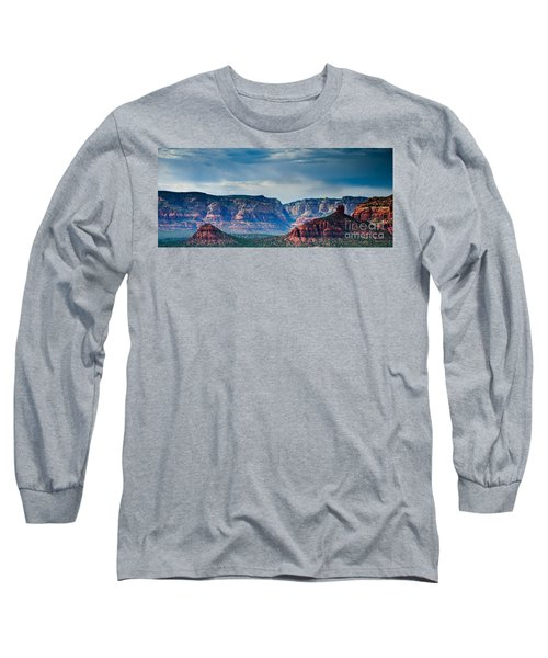 Sedona Arizona Panorama Long Sleeve T-Shirt