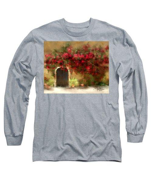 The Bougainvillea's Of Sedona Long Sleeve T-Shirt