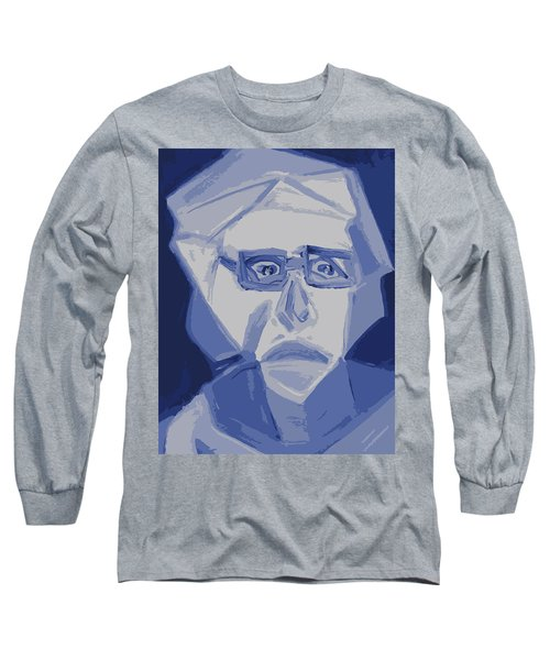 Self Portrait In Cubism Long Sleeve T-Shirt