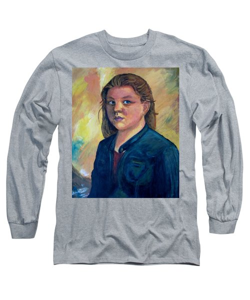 Self Portrait Long Sleeve T-Shirt by Samantha Geernaert