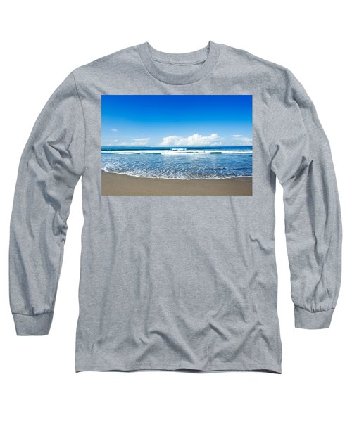 Long Sleeve T-Shirt featuring the photograph Seminyak Beach by Yew Kwang
