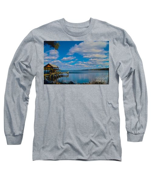 Seneca Lake At Glenora Point Long Sleeve T-Shirt