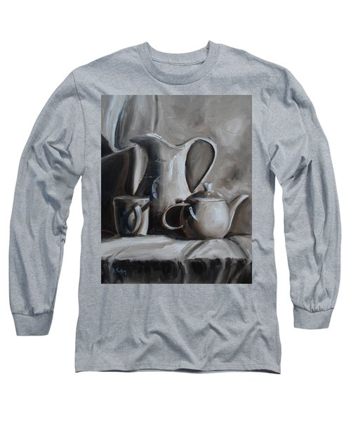 Sepia Still Life Long Sleeve T-Shirt