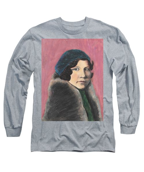 Long Sleeve T-Shirt featuring the painting Serenity by Jeanne Fischer
