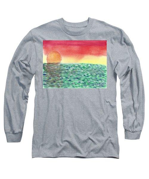 Setting Sea Long Sleeve T-Shirt