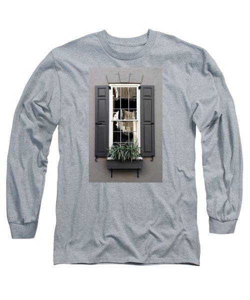 Shades Of Grey In Charleston Long Sleeve T-Shirt