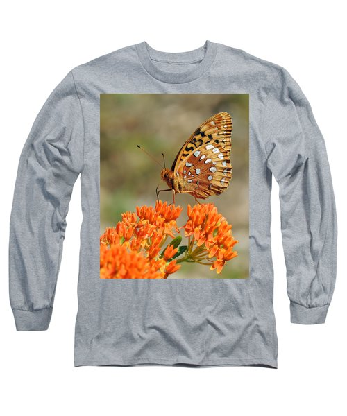 Shades Of Orange Long Sleeve T-Shirt