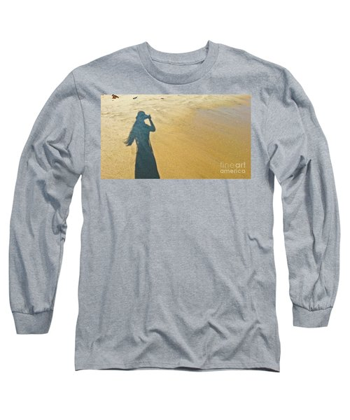 Shadow And Sand Raw Long Sleeve T-Shirt