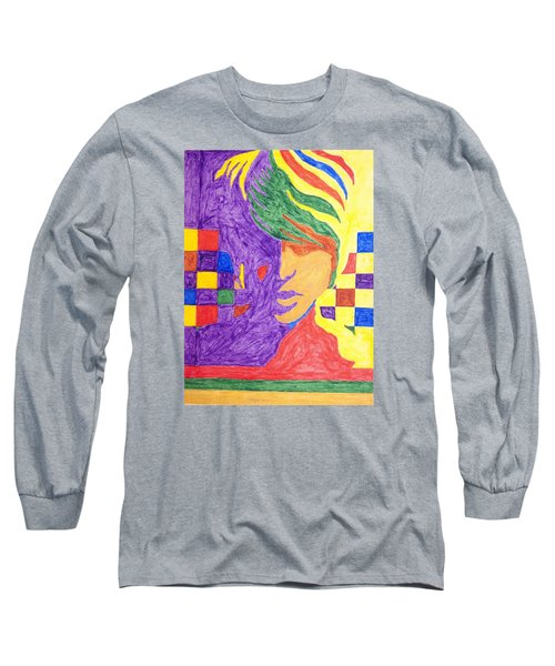 Long Sleeve T-Shirt featuring the painting Prince Gemini   by Stormm Bradshaw