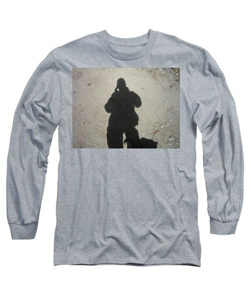 Shadow In Afghanistan  Long Sleeve T-Shirt