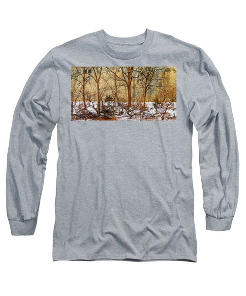 Long Sleeve T-Shirt featuring the photograph Shadows In The Urban Jungle by Nina Silver
