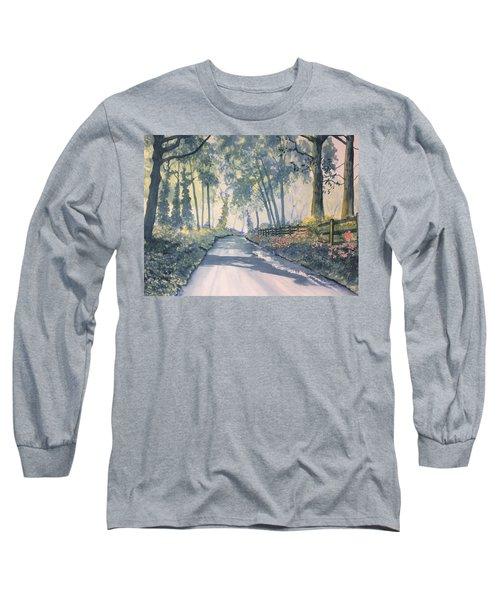 Shadows On The Setterington Road Long Sleeve T-Shirt