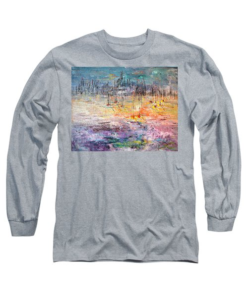 Shallow Water - Sold Long Sleeve T-Shirt by George Riney