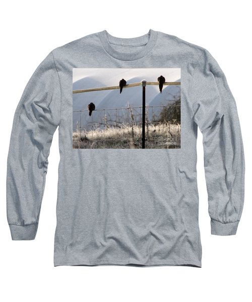 Sharing The Morning News Long Sleeve T-Shirt