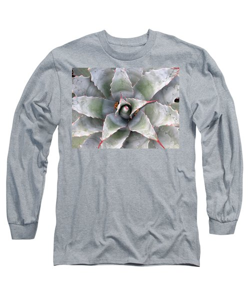 Sharply Circular Long Sleeve T-Shirt by Laurel Powell