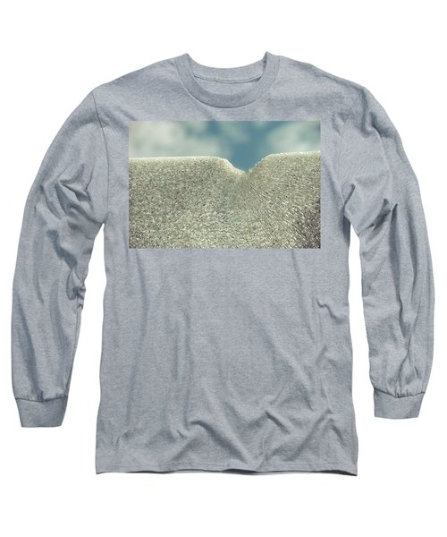 Shattered Summer Day Long Sleeve T-Shirt