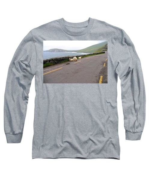 Long Sleeve T-Shirt featuring the photograph Shelter by Suzanne Oesterling