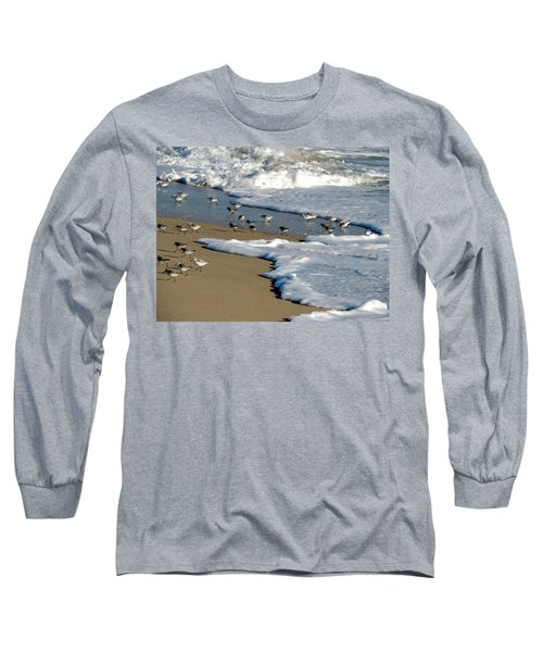 Shore Birds South Florida Long Sleeve T-Shirt