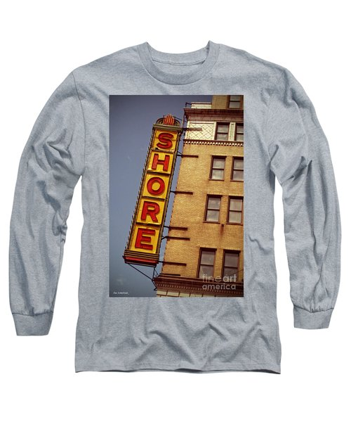 Shore Building Sign - Coney Island Long Sleeve T-Shirt