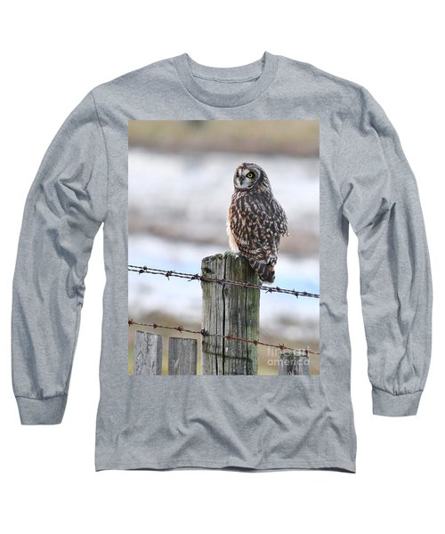 Short Eared Owl Long Sleeve T-Shirt