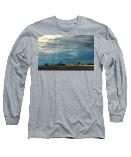 Showers Of Blessings Long Sleeve T-Shirt by Bonnie Willis