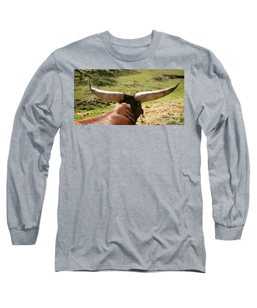 Long Sleeve T-Shirt featuring the photograph Showing Off My Rack by Carol Lynn Coronios