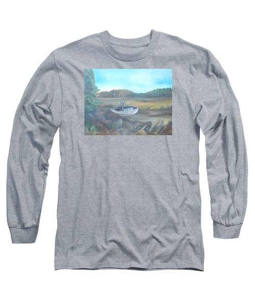 Shrimp Boat Long Sleeve T-Shirt