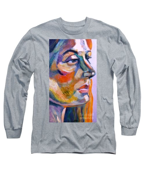 Sideview Of A Woman Long Sleeve T-Shirt