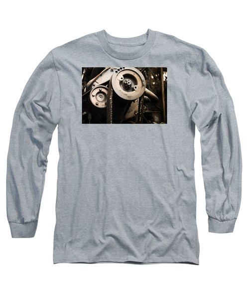 Long Sleeve T-Shirt featuring the photograph Silent Spinning by Rebecca Davis