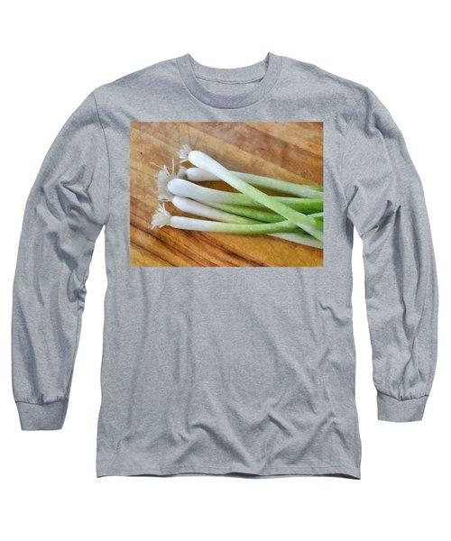 Six Scallions Long Sleeve T-Shirt