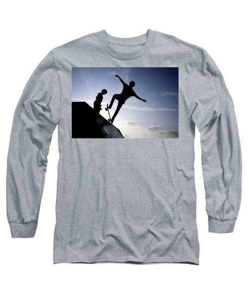 Skateboarders Long Sleeve T-Shirt