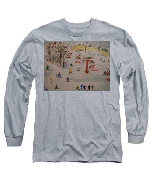 Ski Area Long Sleeve T-Shirt