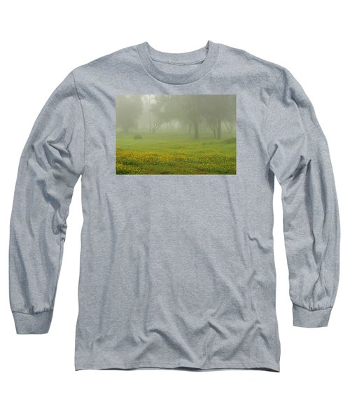 Long Sleeve T-Shirt featuring the photograph Skc 0835 Romance In The Meadows by Sunil Kapadia