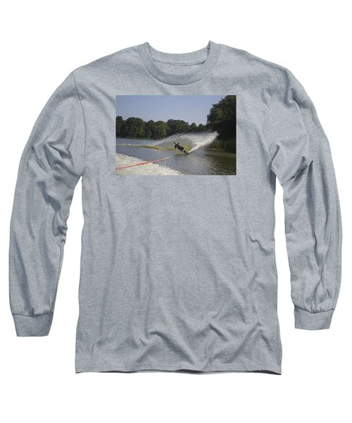 Slalom Waterskiing Long Sleeve T-Shirt