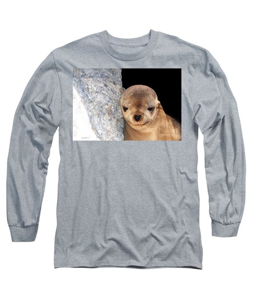 Sleepy Baby Sea Lion Long Sleeve T-Shirt
