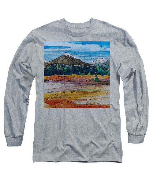 Small Sunriver Scene Long Sleeve T-Shirt