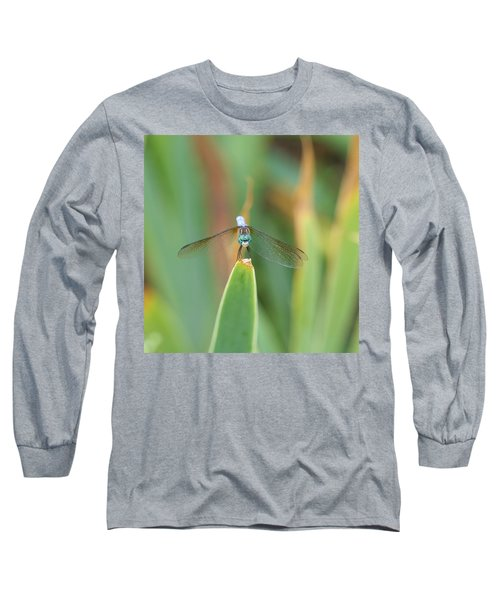Smiling Dragonfly Long Sleeve T-Shirt