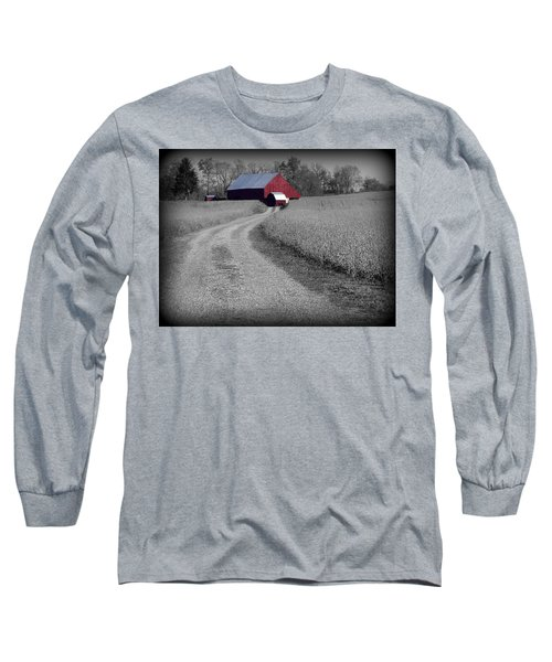 Smithsburg Barn Long Sleeve T-Shirt by Robert Geary