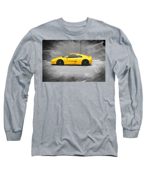 Smokin' Hot Ferrari Long Sleeve T-Shirt by Kathy Churchman