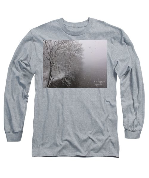 Snow At Bulls Island - 12 Long Sleeve T-Shirt