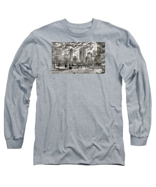 Snow In N.y. Long Sleeve T-Shirt