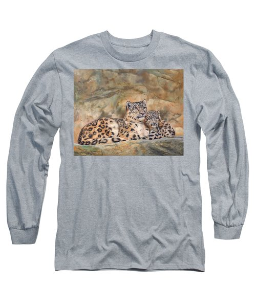 Snow Leopards Long Sleeve T-Shirt