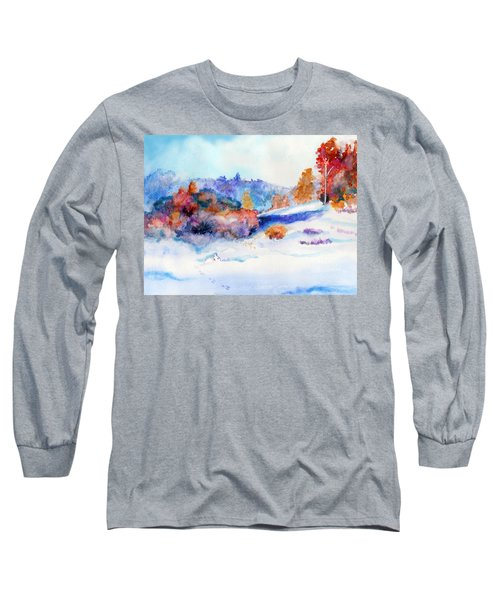 Snowshoe Day Long Sleeve T-Shirt by C Sitton