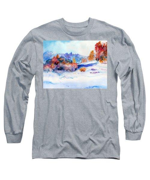 Snowshoe Day Long Sleeve T-Shirt