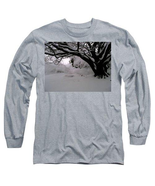 Snowy Path Long Sleeve T-Shirt